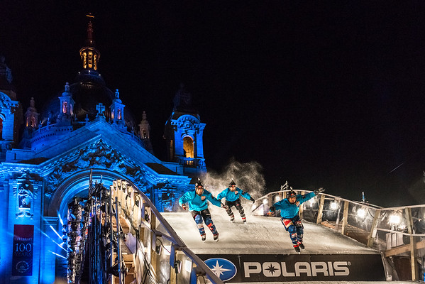 Red Bull Crashed Ice 2015, Ice Cross, Cathedral of Saint Paul Crashed Ice