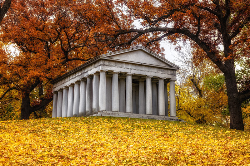 Lakewood Cemetery, Parthenon. Minneapolis cemetery