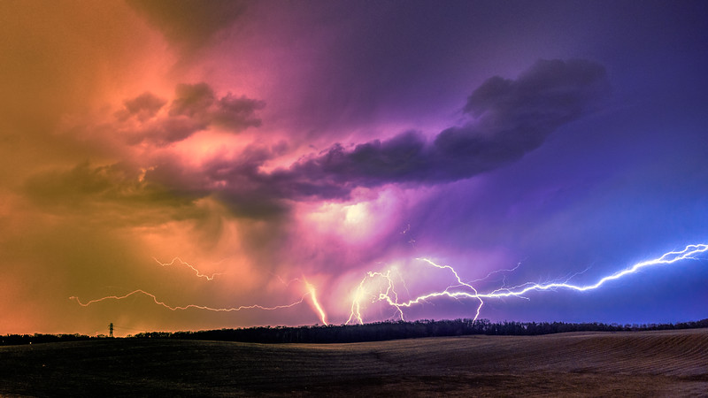 Lightning Photography, Lightning bolts, Minnesota, Thunderstorm