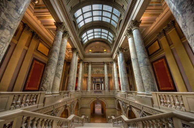 Minnesota State Capitol Pillars