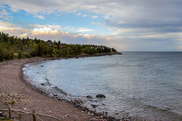 Bluefin Bay,HDR, Tonemapped, Lake Superior, Tofte, Minnesota
