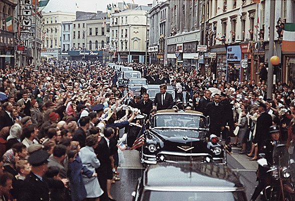 Dublin, not Dallas, five months before the assassination.