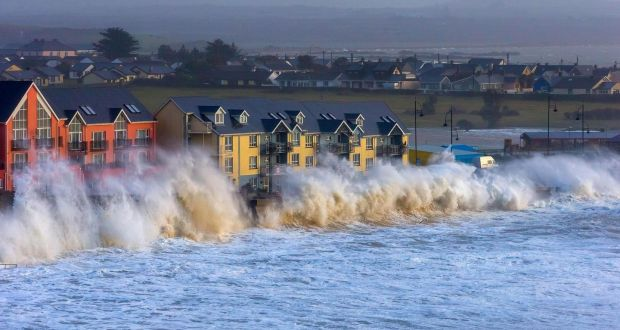 Tramore in County Waterford in January. The Irish Times.