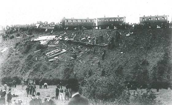 June 1889 rail disaster at Armagh.