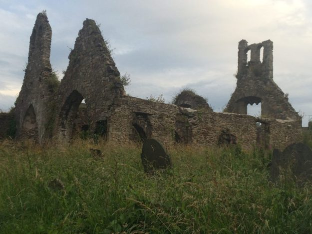 St. Patrick's ruin in Wexford town.