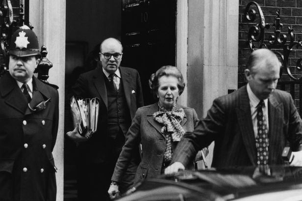 Ian Gow and Margaret Thatcher in 1984. He was assassinated by the IRA six years later.