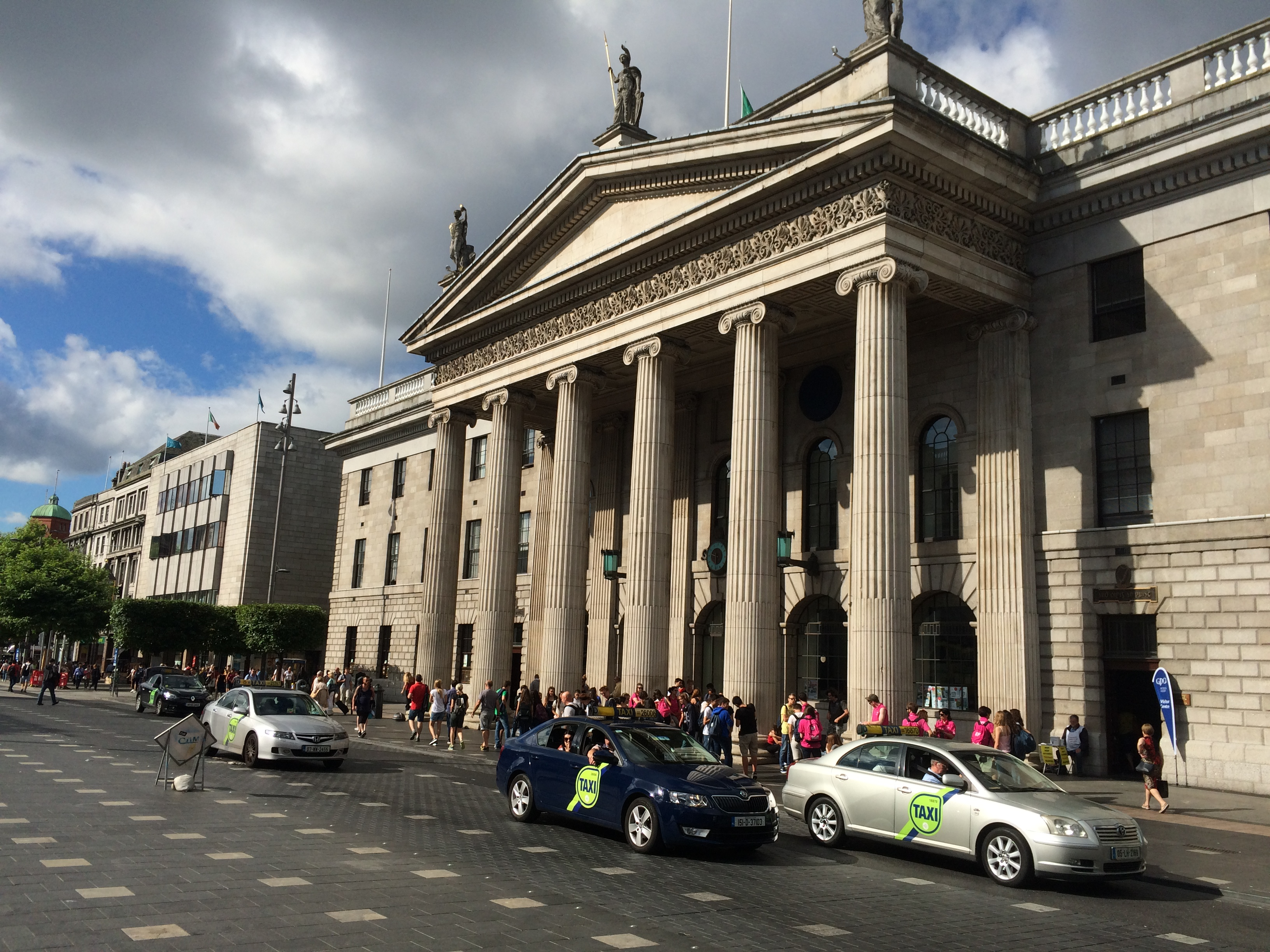The Gpo In Dublin