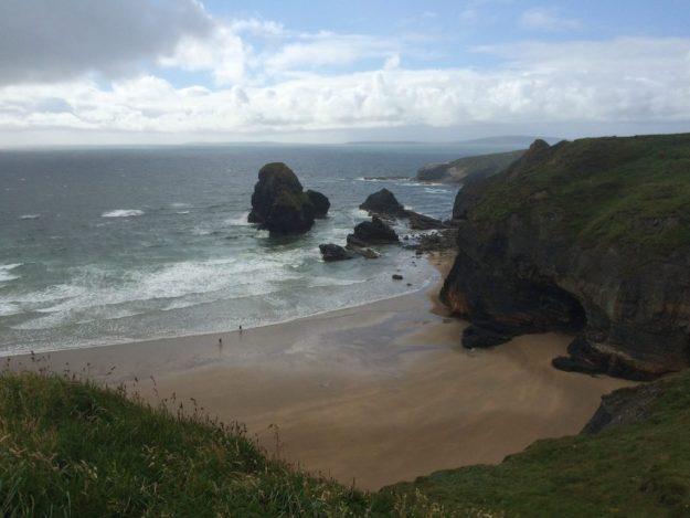 The North Kerry coast, July 2016.