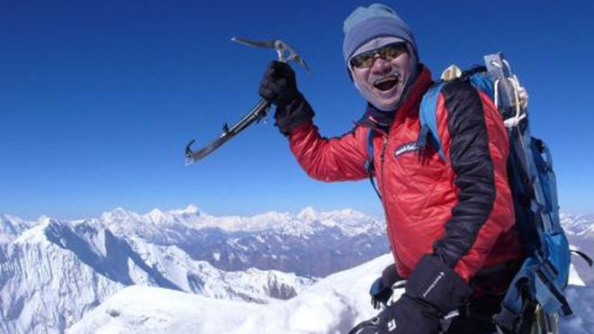 Kim Chang-ho was one of only a handful of people to climb all of the world's 8,000m peaks (Photo: EPA)