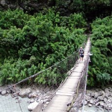 The Manaslu Circuit: a bridge lover's paradise