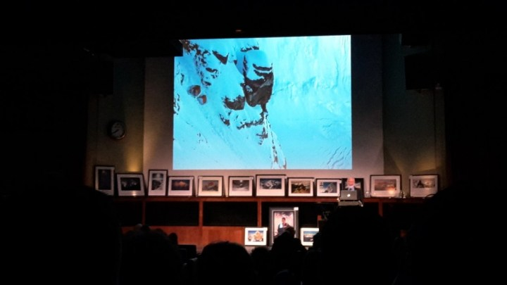 Sir Chris Bonington Introduces two MacInnes Box tents high up on the precipitous slopes of the Southwest Face
