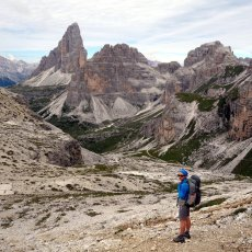 A short walk in the Sesto Dolomites