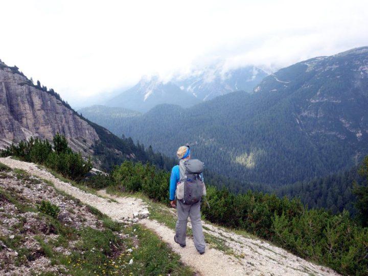 Descending into the Val de l'Arghena