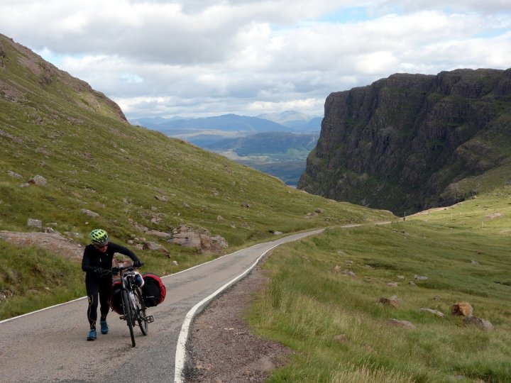 The Bealach na Ba is more commonly known as the Bealach na Bastard
