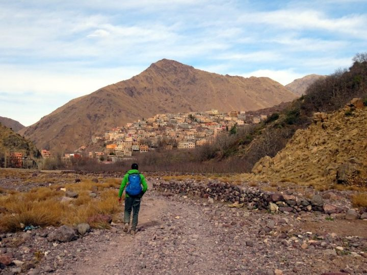 Aremd is the highest village in the valley on the way up to Toubkal