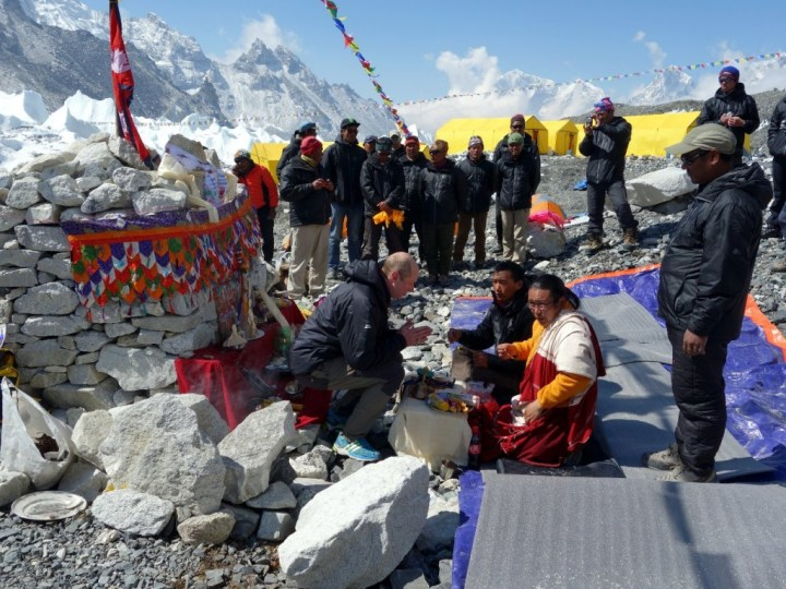 Every Everest expedition begins with a puja ceremony to appease the mountain gods, but it has been reported that puja burial ceremonies can cost grieving families as much as $5,000