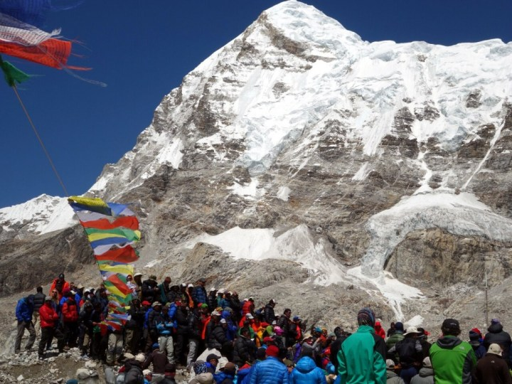 A series of protests at Everest Base Camp last year eventually led to all teams quitting the mountain
