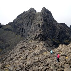 Peak bagging the Cuillin ridge on Scotland's Isle of Skye