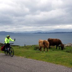 Cycling the North Coast 500: a teaser from my next book