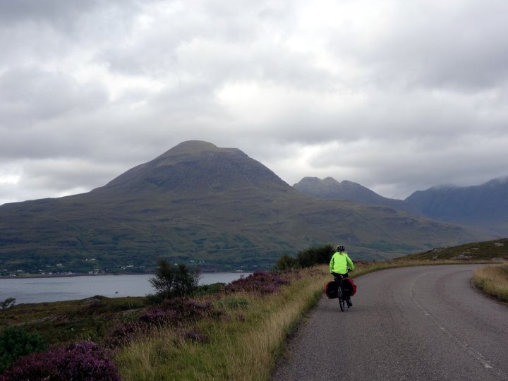 On the road to Torridon