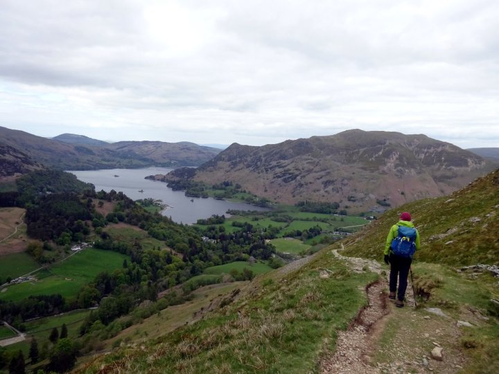 Descending into the emerald paradise of Patterdale