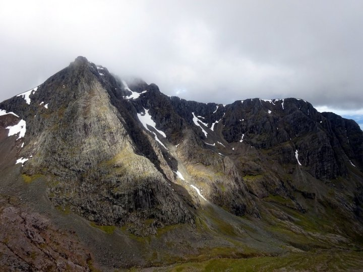 The north face of Ben Nevis from the CMD Arête