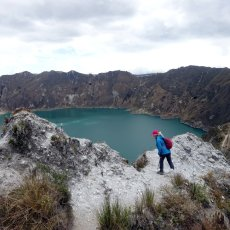 Quilotoa: the easiest way in Ecuador to look into a volcanic crater?