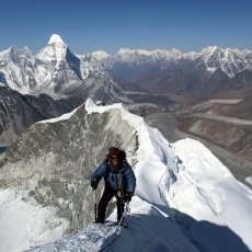 When does trekking become mountaineering?
