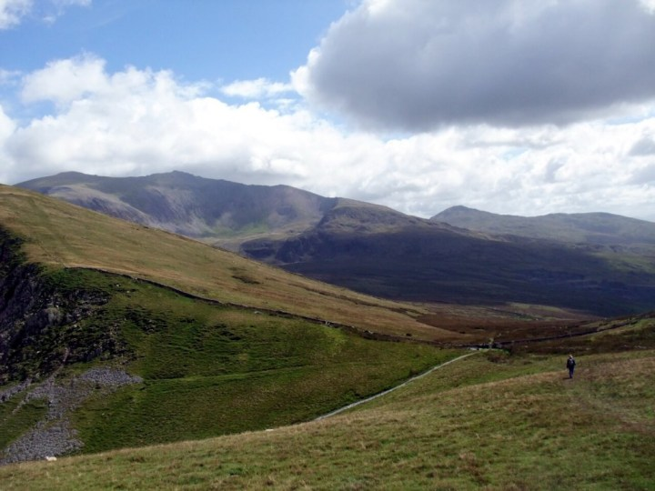 Snowdon from the flanks of Foel Goch