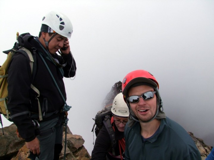 It's standard practice now to make phone calls from summits of mountains