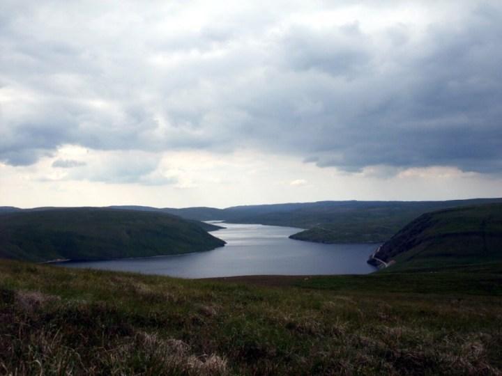 Claerwen Reservoir from Craig Fawr