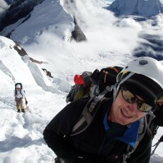 Manaslu 2011: Ice axe and Cramptons