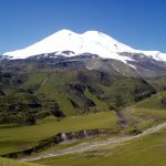 Elbrus (5642m) in the Russian Caucasus, the highest mountain in Europe (Photo: Alexander Sorel)