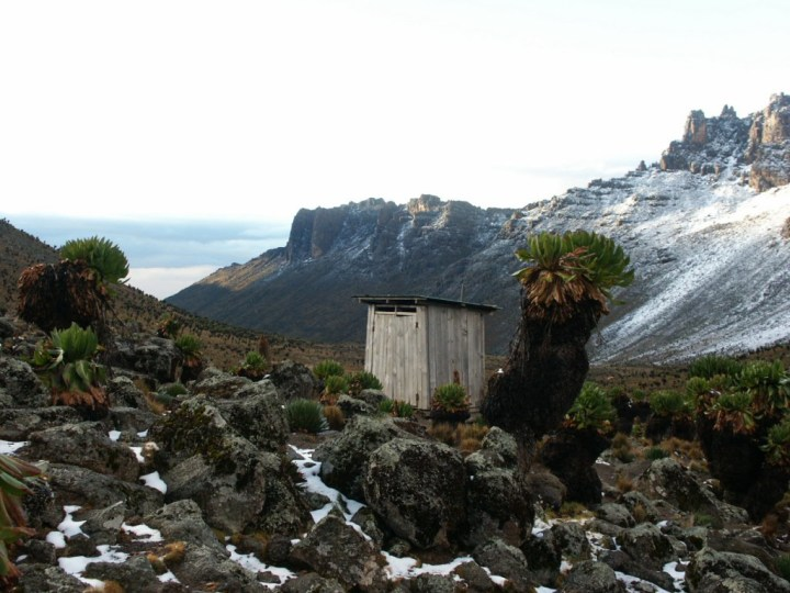 This toilet is actually on Mount Kenya, but who cares (Picture Credit: Wankentoss New Agency)
