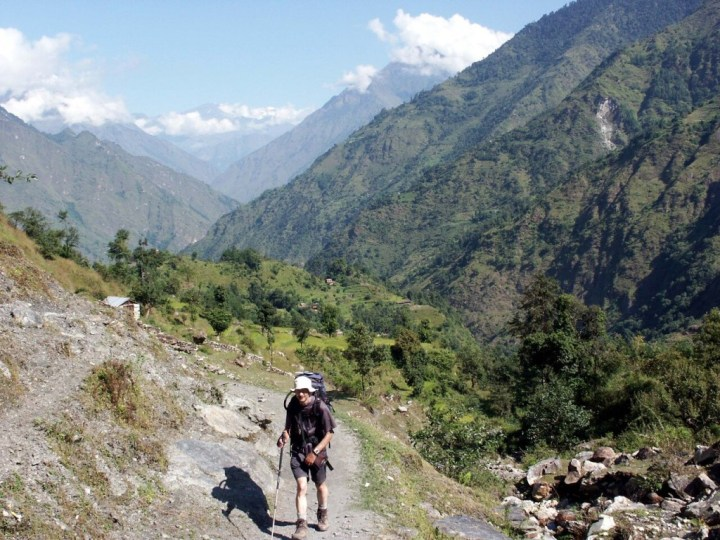 The mountains of Nepal are a fantastic place for solo trekking