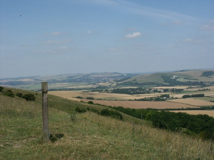 The South Downs, one of the UK's new national parks