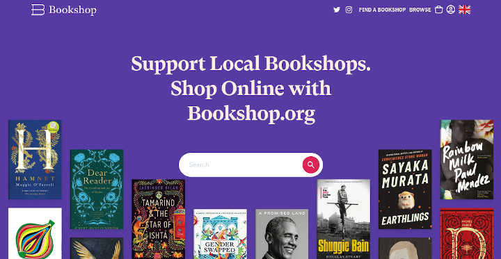 Bookshop.org is a socially conscious alternative to Amazon that supports local independent booksellers