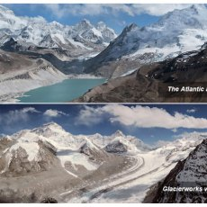Mystery of the vanishing Himalayan lake