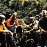 Joe Brown (top left), Hamish MacInnes (bottom left) and their team of would-be treasure hunters in Ecuador's Llanganates Mountains (Photo: Hamish MacInnes)