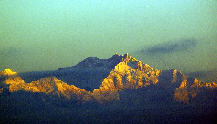Kangchenjunga from Tiger Hill, Darjeeling (Photo: Ian Horrell)