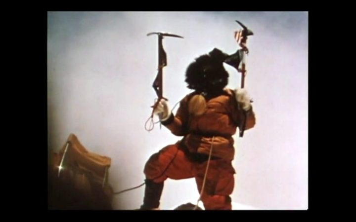 Nawang Gombu became the second Sherpa to reach the summit of Everest during the 1963 American expedition (still from Nawang Gombu: Heart of a Tiger)
