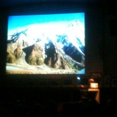How not to do a mountaineering presentation