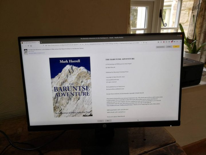 A revised digital edition of The Baruntse Adventure is available to download now