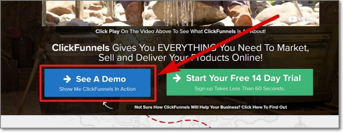 ClickFunnels Demo
