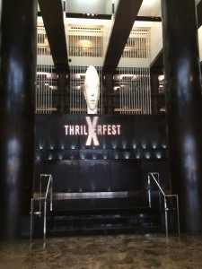 See you next year, Thrillerfest!