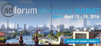 AdForum Worldwide Summit Berlin 2016