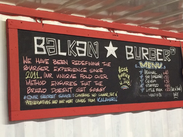 "Balkan Burger's mission is about ""redefining the burger experience ..."