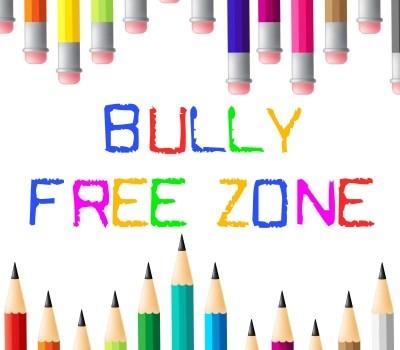 Bully Free Zone Indicates Bullying Children And Cyberbully by Stuart Miles courtesy of FreeDigitalPhotos.net