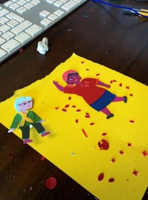 Design Indaba 2015 campaign: print process