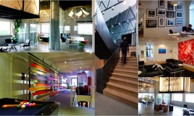 Images (clockwise from top left): Bruketa i Zinic, Zagreb; Cloud Nine, Sweden; Emakina, Brussels.